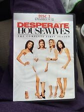 Desperate housewives complete first season 3 discs