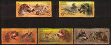 Russia 1988 Sc5667-71  Mi5827-31 2.00 MiEu  5v  mnh  Hunting Dogs