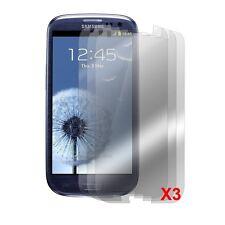 3pcs Anti-Glare & Anti-Fingerprint Screen Protector for Samsung Galaxy S3 I9300