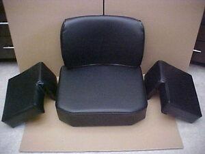 NEW Seat For JOHN DEERE 350-450-550 CRAWLER, DOZER deluxe set with extra padding