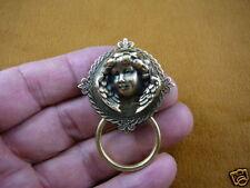 (E-610) Angel wings cherub diamond shaped Eyeglass pin pendant ID badge holder