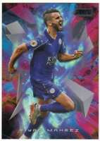 2016-17 Topps Stadium Club Premier League Golazo Black Foil #4 Riyad Mahrez