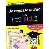 Bouvet Stéphanie - Je repasse le Bac pour les Nuls - 2013 - Broché