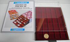 Médaillier 35 compartiments carrés jusqu'à 35 mm Ø, teinte fumée  Réf  315905