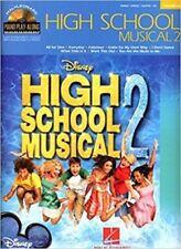 High School Musical 2 Piano jugar junto volumen 63 libro de partituras y CD de pistas