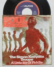 "The Simon Kenyatta Troupe – Soul Makossa  7"" Single  AVCO"
