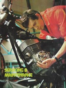 A Magazine Mini Poster - A4 Size (21cm x 30cm) 1960's Man & Machine - Servicing
