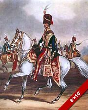 OFFICER 11TH HUSSARS PRINCE ALBERTS OWN BRITISH ARMY PAINTING CANVASART PRINT