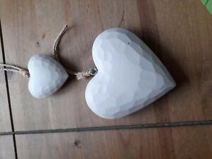 Decorative Hanging Hearts.