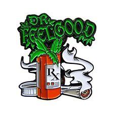 Dr Feel Good Medical RX 420 Stoner Weed Culture Enamel Hat Pin