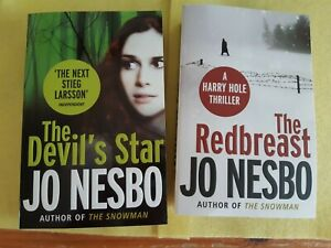 Jo Nesbo Paperback Bundle, 2 Fiction Books