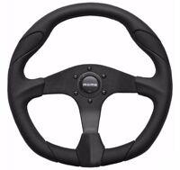 MOMO Steering Wheel Quark Black Polyurethane 350mm Genuine New QRK35BK0B