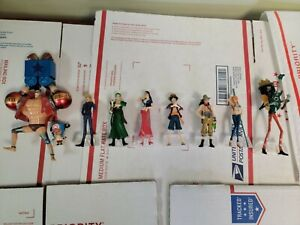 One piece anime mini figure lot