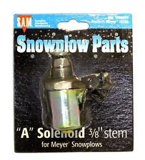 """""""A"""" Solenoid coil and valve, 3/8"""" stem, Snow Plow, Meyer 15356, part #1306015"""