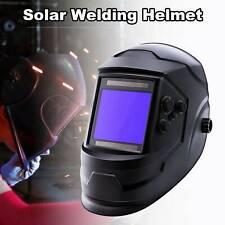 New listing 3.97*3.66� Large Window Welding Helmet Auto-darkening Solar Powered Li Battery