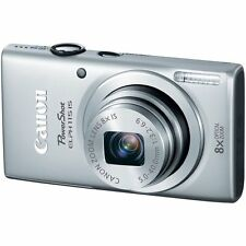 Canon PowerShot ELPH 115 IS 16.0 MP Digital Camera - Silver