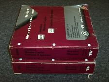 1997 Oldsmobile Cutlass Supreme Shop Service Repair Manual Book Set SL 3.1L V6