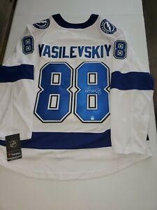 Andrei Vasilevskiy Signed Tampa Bay Lightning Fanatics Jersey Dave & Adams COA