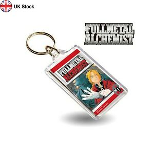 Fullmetal Alchemist Vol 01 Anime Manga Book Inspired Keyring/Key FMA Brotherhood