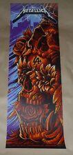 Metallica Maxx242 concert poster screen print art signed Los Angeles