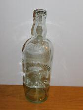 ancien BOUTEILLE de VIN GUEBWILLER old wine bottle QUINTIN BUSSOT alte flasche