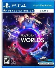 BRAND NEW Sony PlayStation VR Worlds PS 4 Virtual Reality Game PS4 PSVR SEALED