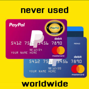 cleen VCC for Paypal Verification fast Delivery 5 min