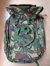 New British Army Issue Woodland DPM Camo Medical IRR Rucksack Bergen UK