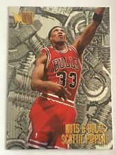 Card Scottie Pippen FLEER METAL '95-96 NUTS & BOLTS #216