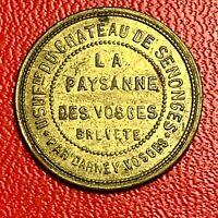 #5458 - Jeton La Paysanne des Vosges SUP - FACTURE