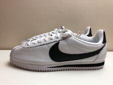 Nike Classic Cortez Premium Chaussures UK 6 EUR 39 Blanc Noir 807480 101