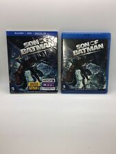 Son of Batman (Blu-ray/DVD, 2014, 2-Disc Set Watched Once