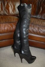 03c9fc49 Yves Saint Laurent Over-the-Knee Leather Boots for Women for sale | eBay