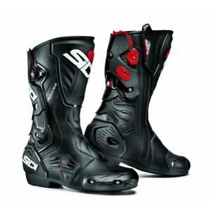 SIDI ROARR Black/Black Sports Motorbike Boots Vertebra System Techno 3