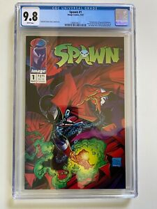 SPAWN 1 CGC 9.8 5/92 WHITE PAGES IMAGE COMICS HOT SPAWNVERSE Coming