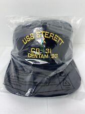 New Us Navy Usn Ship baseball hat/cap Uss Sterett Cg-31 Cruiser military crew
