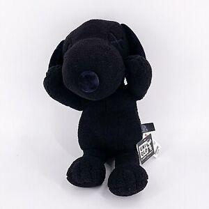 "Uniqlo Kaws X Snoopy Black Plush 22"" Large Plush Stuffed Animal New With Tag"