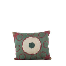 """12.99"""" x 15.75"""" Pillow Cover Suzani Pillow Vintage FAST Shipment With UPS 10457"""