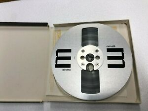 """NEW Maxell 7"""" METAL REEL 1/4"""" Tape  Aluminum Made in USA with TDK AUDUA L-1800"""