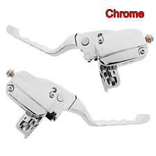 Chrome Handlebar Control Kit With Hydraulic Clutch For Harley Touring 14-19