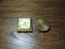 Vintage HR and Mother of Pearl makeup cases.
