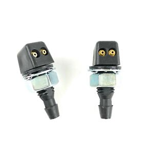 Land Rover Discovery 1 Windshield Washer Jet Nozzle Hood Sprayers Set Allmakes