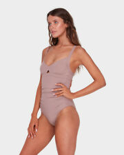 BNWT BILLABONG LADIES SOL SEARCHER SWIMSUIT SIZE 10 RRP $119.99 (COCO)