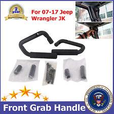Steel Front Grab Handles Bar For 2007-2017 Jeep Wrangler JK Unlimited 2 Door B56