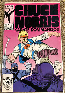 Chuck Norris Karate Kommandos #2 Star Marvel Comics 1987
