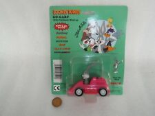Vintage 1991 Apollo Looney Tunes Bugs Bunny Pull Back Go Cart...Rare On Card