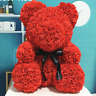 "15"" Red Rose Teddy Bear Flower Gift For Girlfriend Birthday Wedding Valentine"