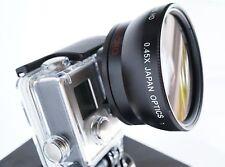 Ultra Wide Angle Macro Lens For gopro hero 3 3+ 4 2014 + circular polarizer + uv