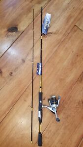 """New! Okuma Safina Pro Reel SPA-35, & Rod SPA-662-35 Fishing Combo 6'6"""" 2 piece"""