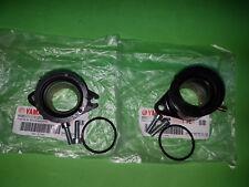 Yamaha SRX600 SRX 600 Carburettor Rubber Inlet Manifold Pair Joint